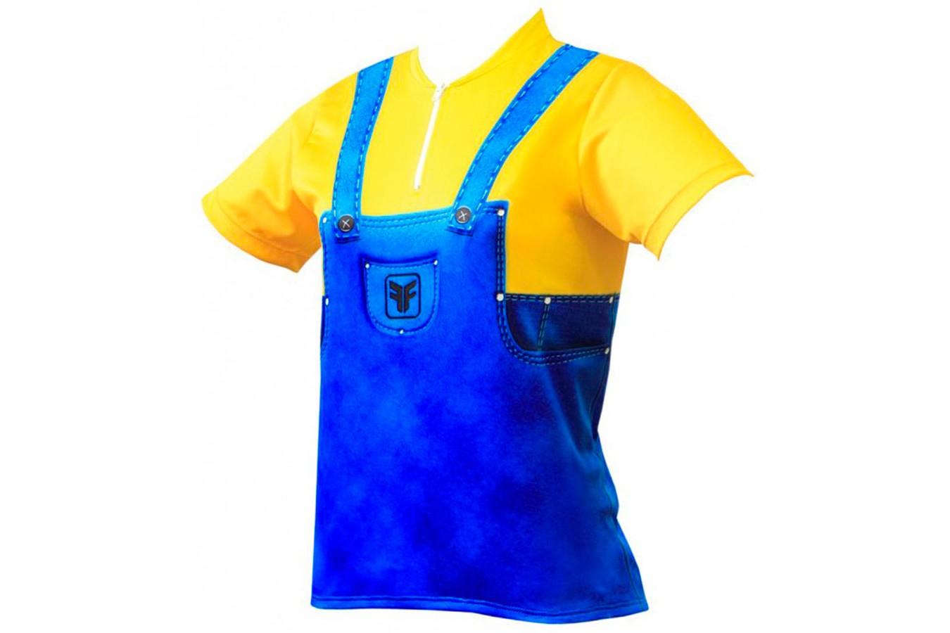 Camisa Ciclista Infantil Funny - Free Force