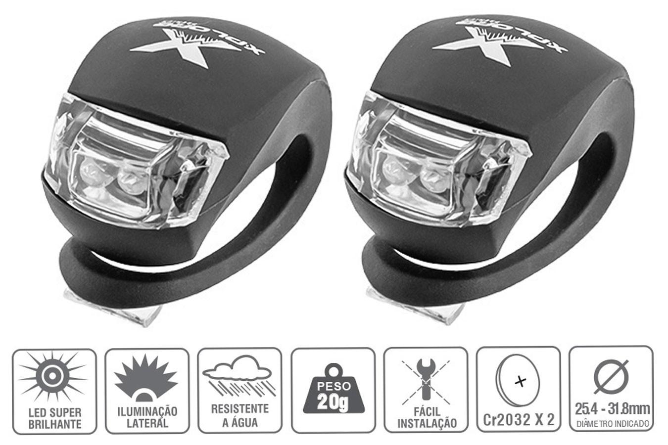 Vista Light Silicone Par com LED - X-plore