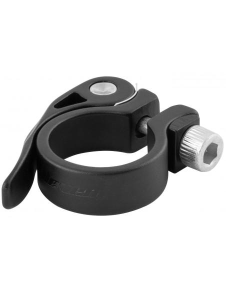 Abraçadeira de selim 31,8 mm em alumínio preta - Elleven
