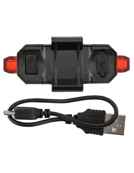 Vista Light Traseiro Recarregável USB 100 Lúmens - Genesi