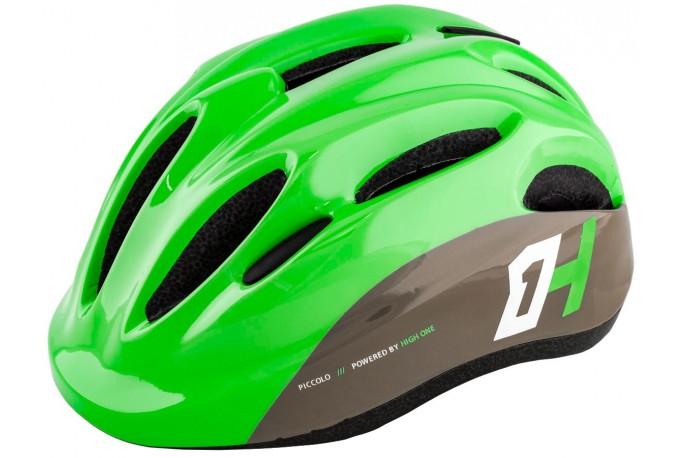 Capacete de ciclista infantil Piccolo Verde High One