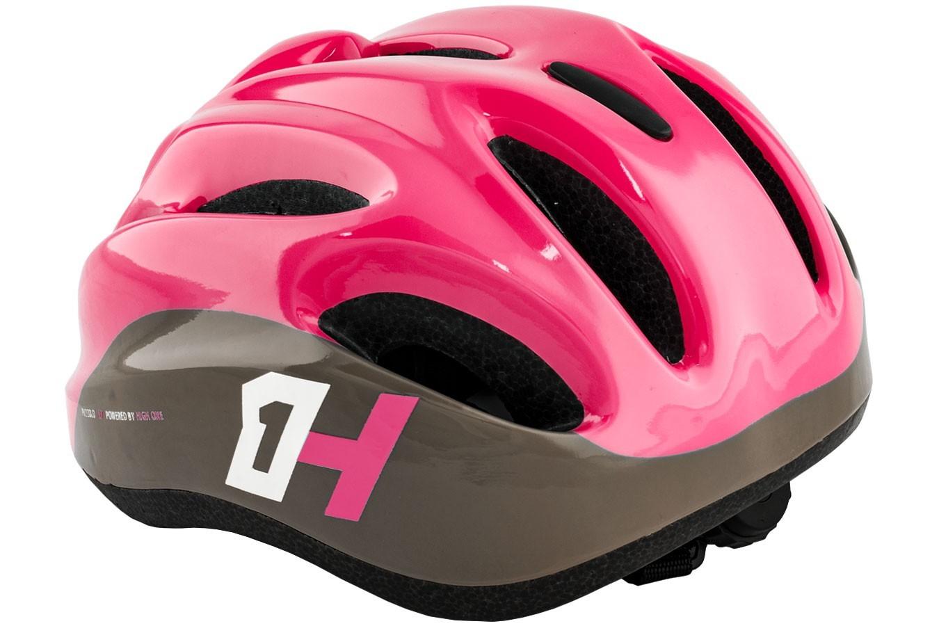 Capacete de ciclista infantil Piccolo Rosa High One