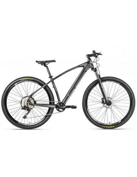 Bicicleta 29 MTB Rocker II XTime 12V Freio Hidráulico Suspensão Trava no Guidão - Elleven