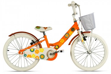 Bicicleta aro 20 Feminina My Bike Laranja - Tito