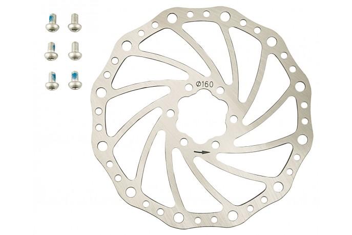 Rotor para Freio a Disco 160 mm - Yamada
