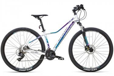 Bicicleta 29 X100 Branco 24V Freio Hidráulica - Upland