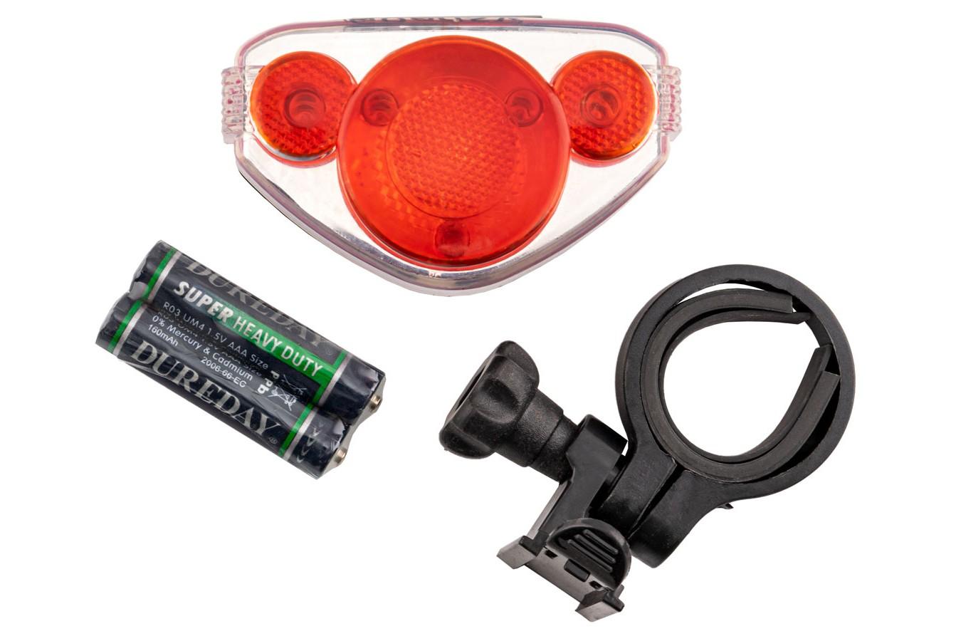 Vista Light Traseiro 6 Funções 5 LEDs a Pilha - Genesi