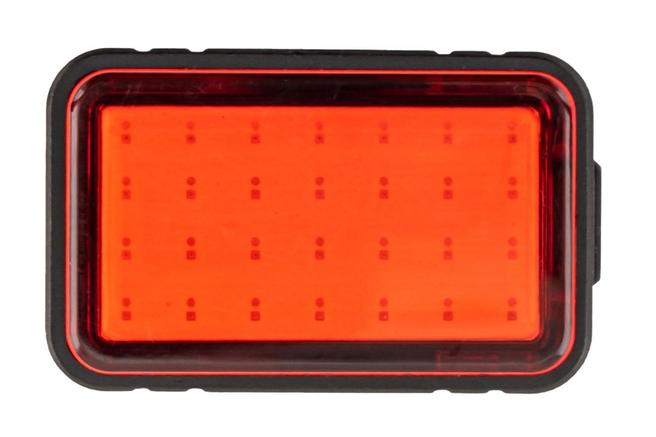 Vista Light Traseiro Recarregável com 28 Chips 30 Lúmens Elleven