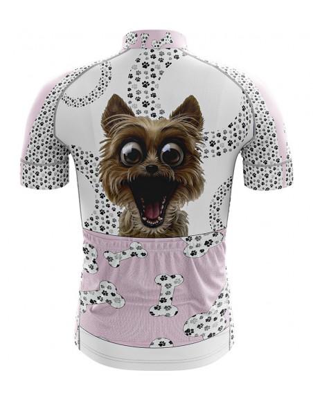 Camisa Ciclista Infantil Dog Modelo 40 - Philip Dilis