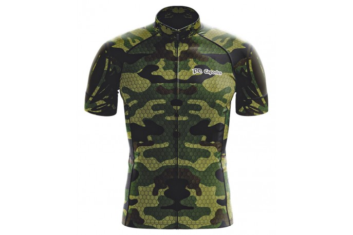 Camisa Ciclista Modelo 32 Camuflado - Philip Dilis