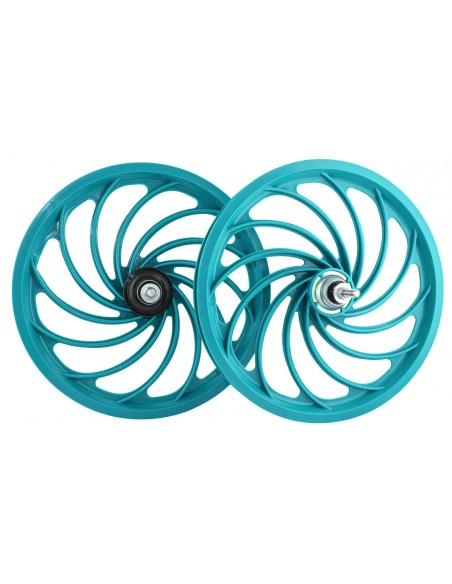 Roda 16 Nylon com Eixo (par) modelo Twist - JKS