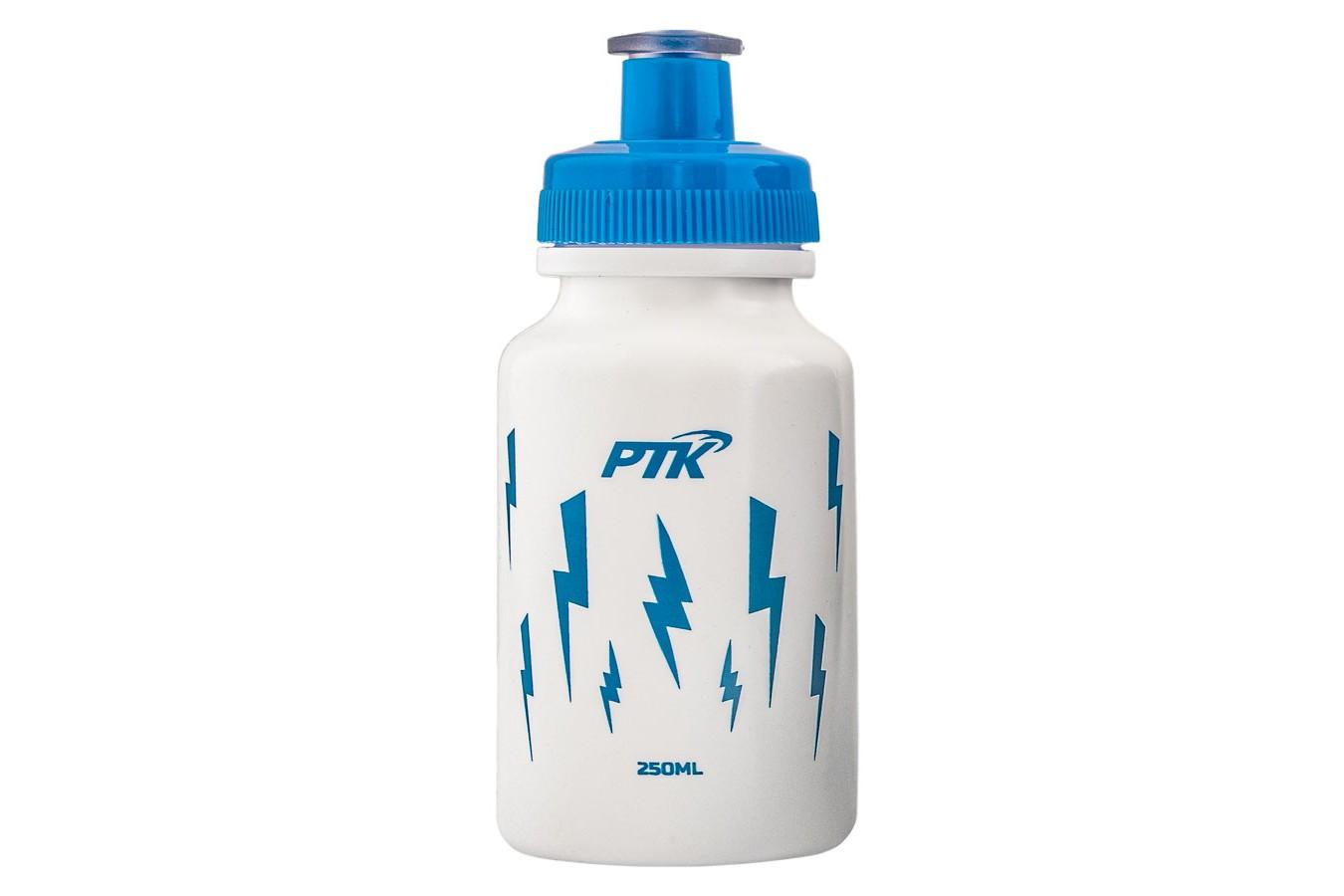 Capacete Ciclista Infantil com regulagem + Squeeze 250ml modelo Raio - PTK