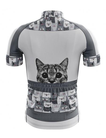 Camisa Ciclista Infantil Cats Modelo 40 - Philip Dilis