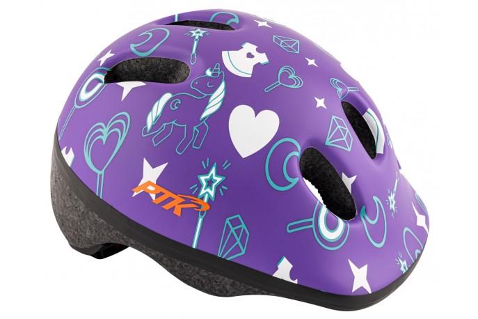 Capacete Ciclista Infantil Baby Unicórnio com regulagem - PTK