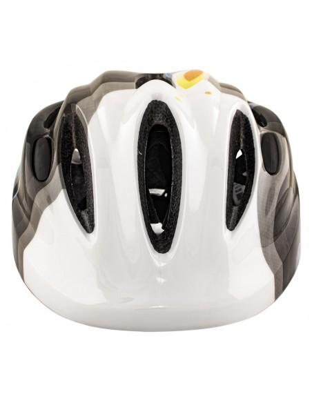 Capacete Ciclista Infantil com LED MTB KIDS New Branco - TSW