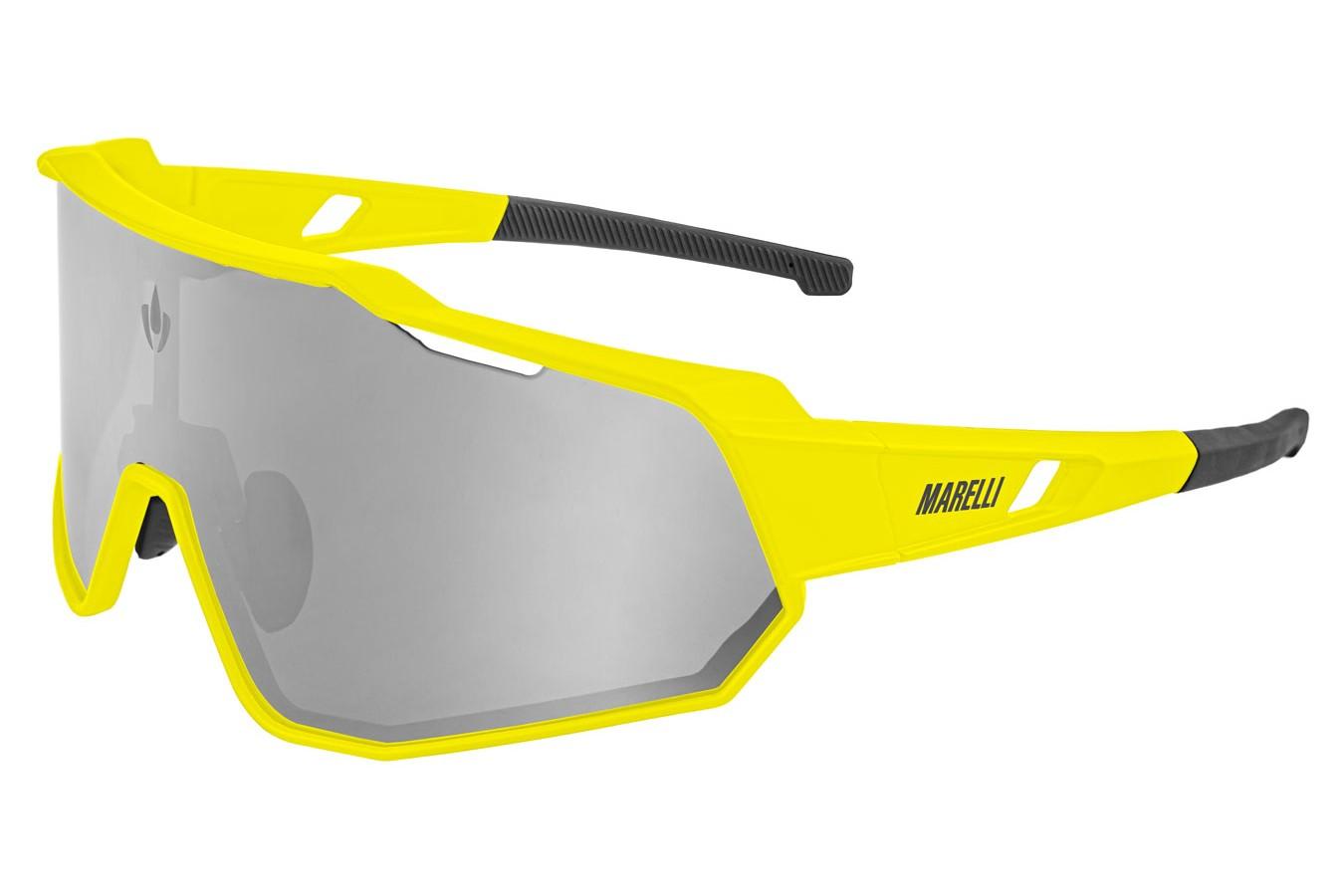 Óculos de ciclismo Veloce 3 lentes amarelo - Marelli