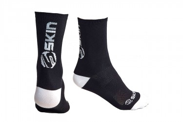 Meias para ciclistas SS Logo Branco - Skin Sport