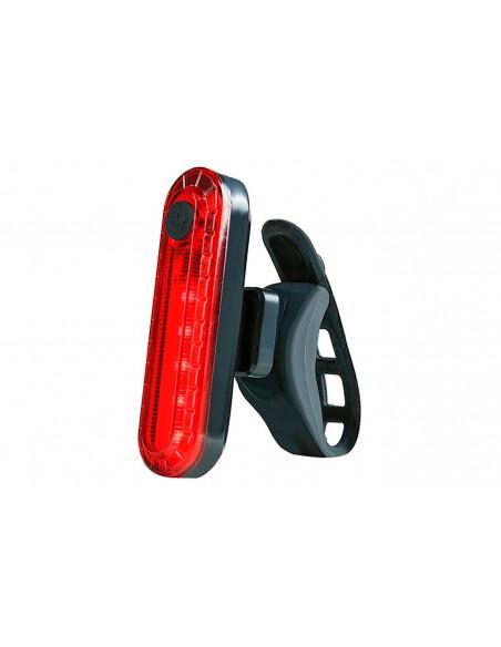 Vista Light Traseiro recarregável USB 10 lúmens vermelho - X-plore