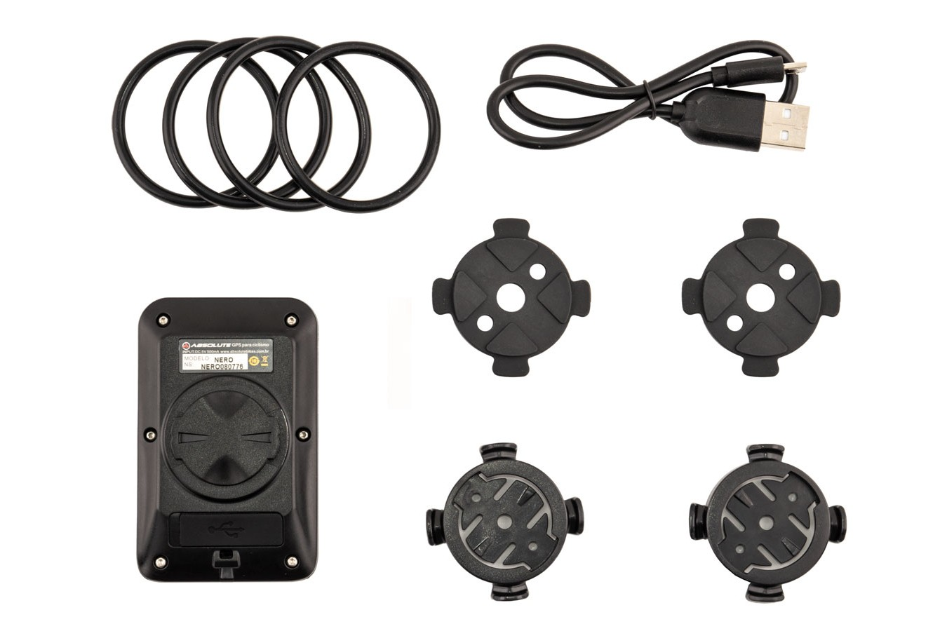Ciclocomputador com GPS IPX7 7 funções - Absolute