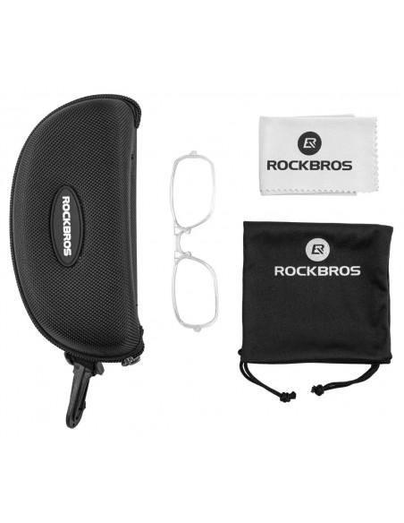 Óculos para ciclistas com lente fotocromática - Rockbros