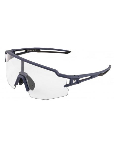 Óculos para ciclistas azul/preto com lente fotocromática - Rockbros