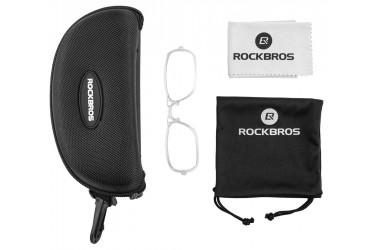 Óculos para ciclistas fotocromático II Preto/vermelho - Rockbros