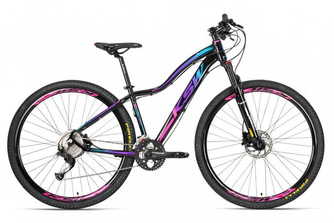 Bicicleta 29 MTB 27v MWZA Disco Hidráulico - KSW