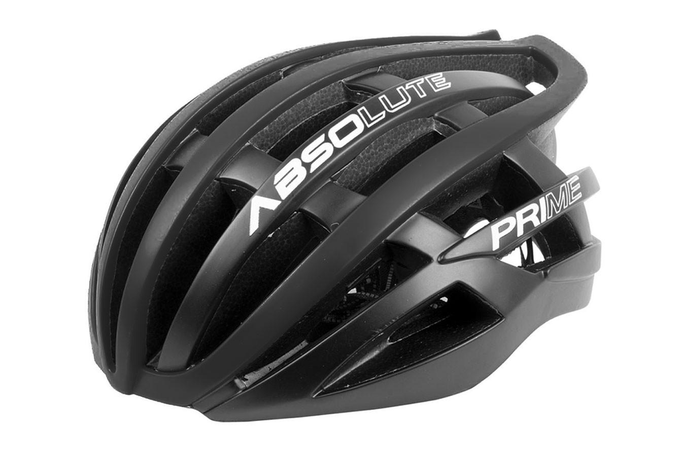 Capacete Ciclista Prime cinza escuro - Absolute