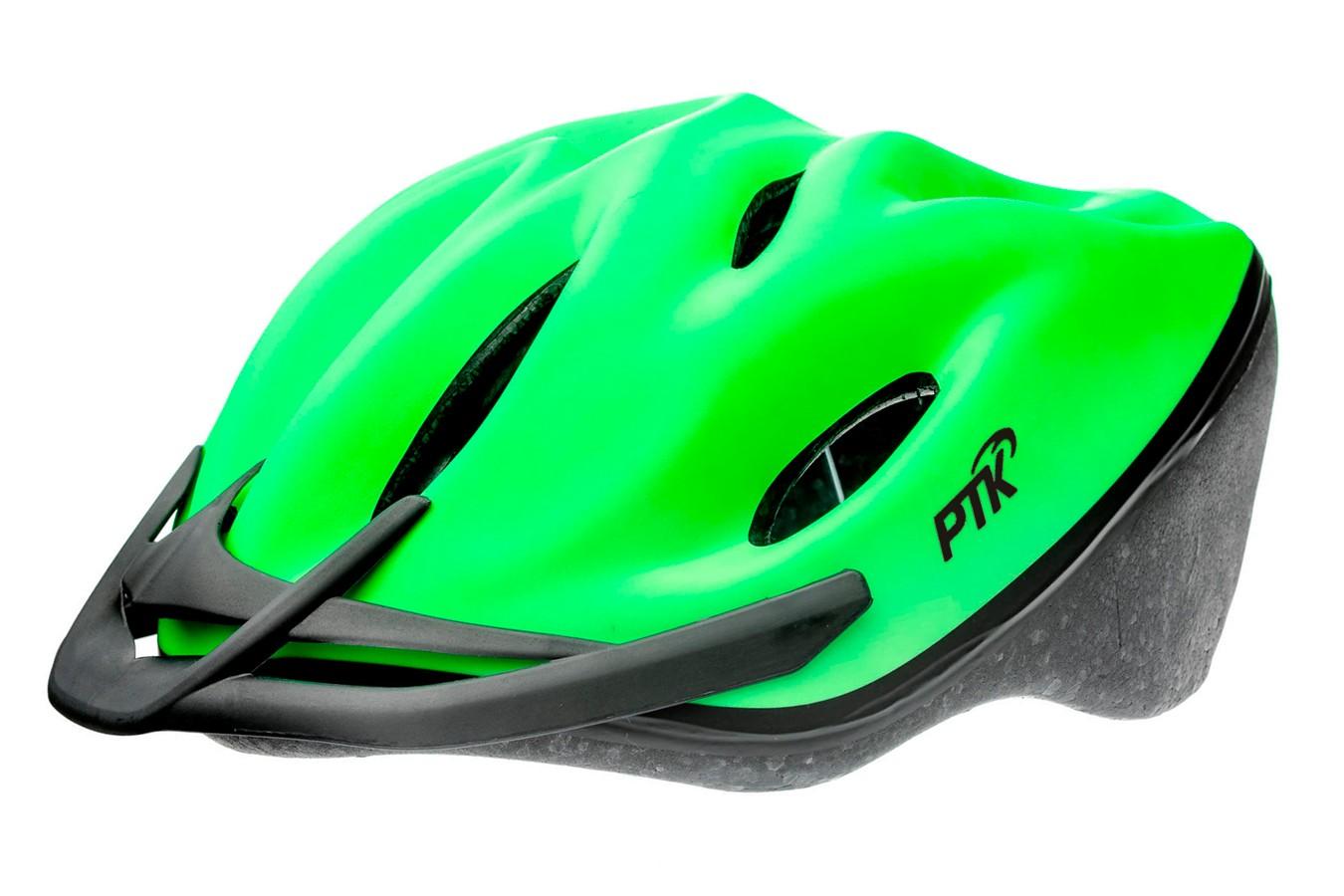 Capacete Ciclista Podium Verde com Regulagem - PTK