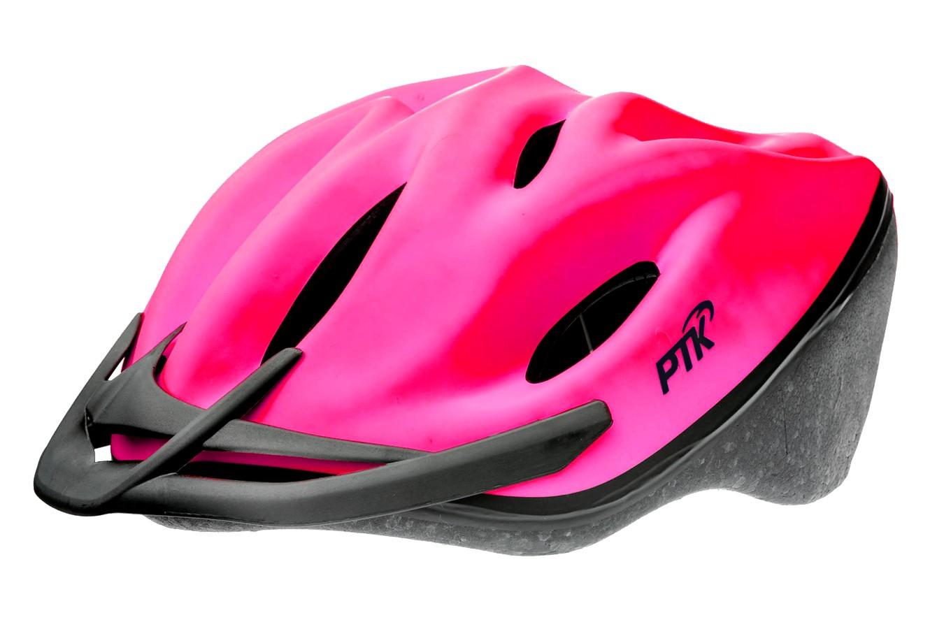Capacete Ciclista Podium Rosa com Regulagem - PTK