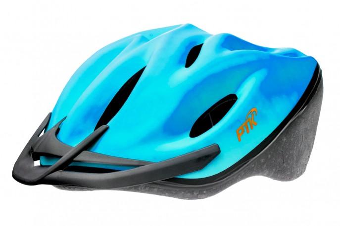 Capacete Ciclista Podium Azul com Regulagem - PTK