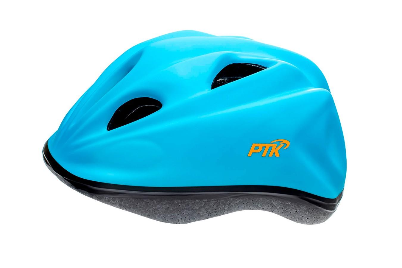 Capacete Ciclista Infantil com regulagem modelo Kids Azul - PTK