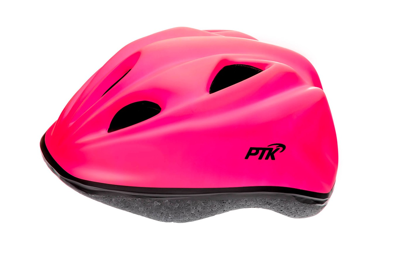 Capacete Ciclista Infantil com regulagem modelo Kids Rosa - PTK