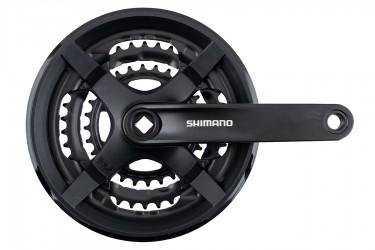 Pedivela Com Engrenagem Tripla 28/38/48 FC-TY301 com Protetor - Shimano