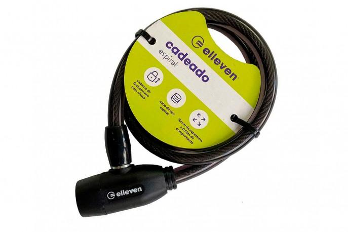 Cadeado para bike com Chave 10x650mm revestido - Elleven