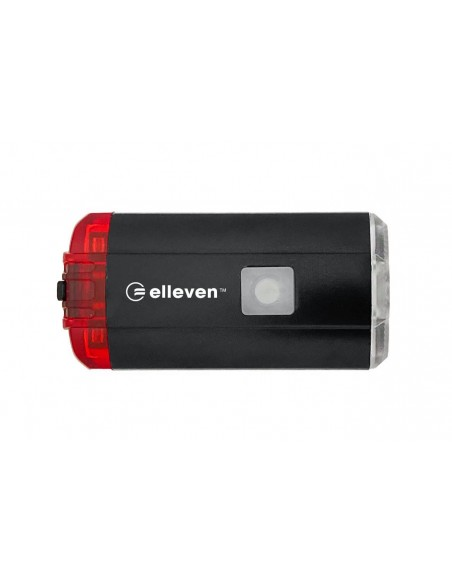 Farol 2 em 1 luz dianteira com 1 Led Cree / 200 Lumens e traseira com 10 Lumens - Elleven