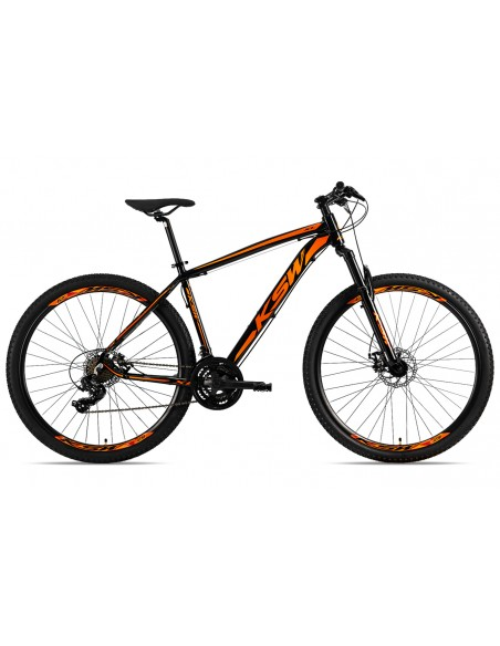 """Bicicleta 29"""" XL Shimano 21V Freio Disco - KSW"""