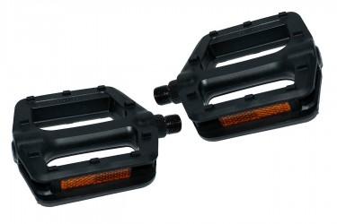 """Pedal Plataforma Nylon Rosca Inglesa (9/16"""") - Importado"""