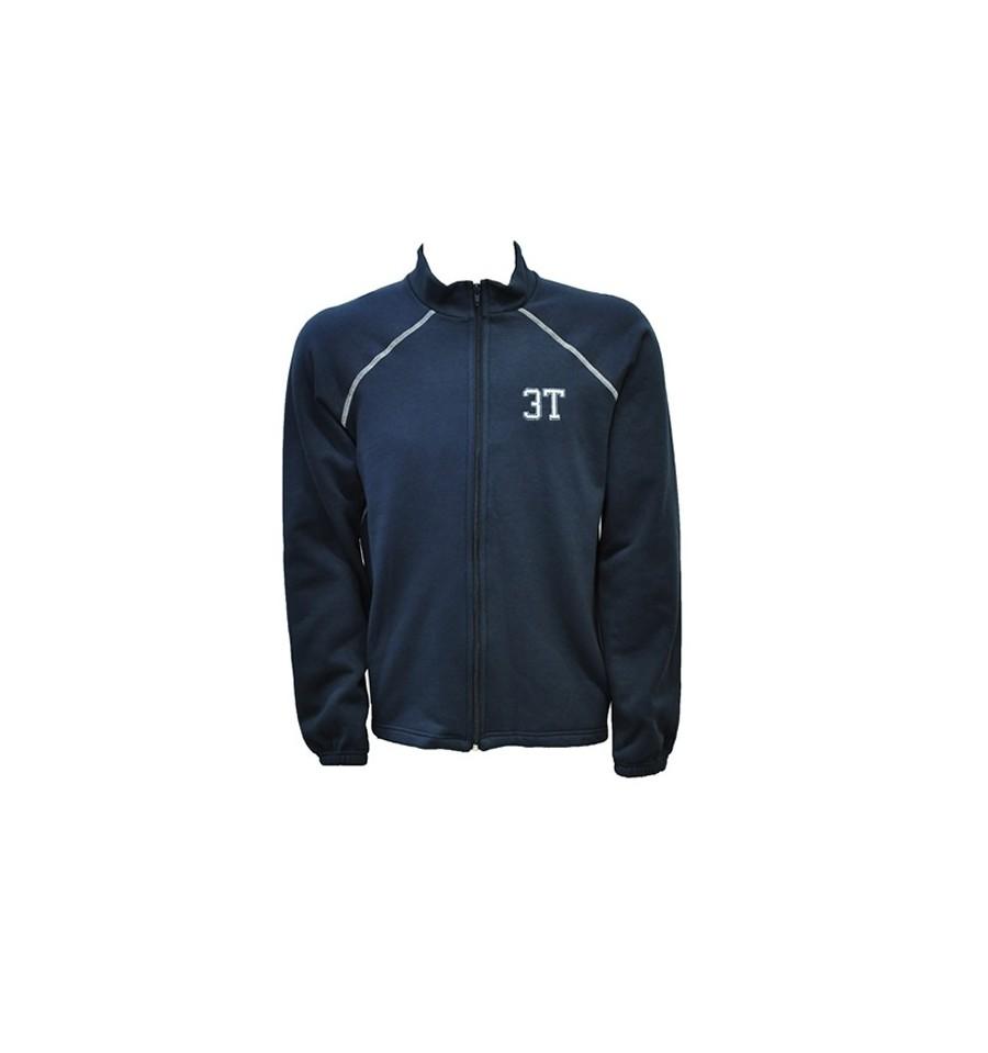 jaqueta de moletom 3T