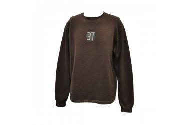 Blusa de moleton careca marrom 3T