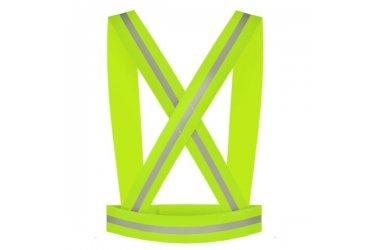 Faixa refletiva de alta visibilidade para ciclistas