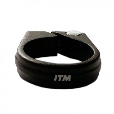 Abraçadeira de selim 35mm alumínio preta ITM
