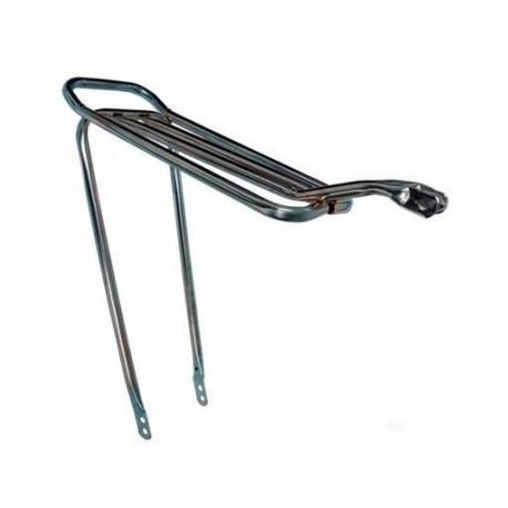 Bagageiro bicicleta tubo cromado DNZ
