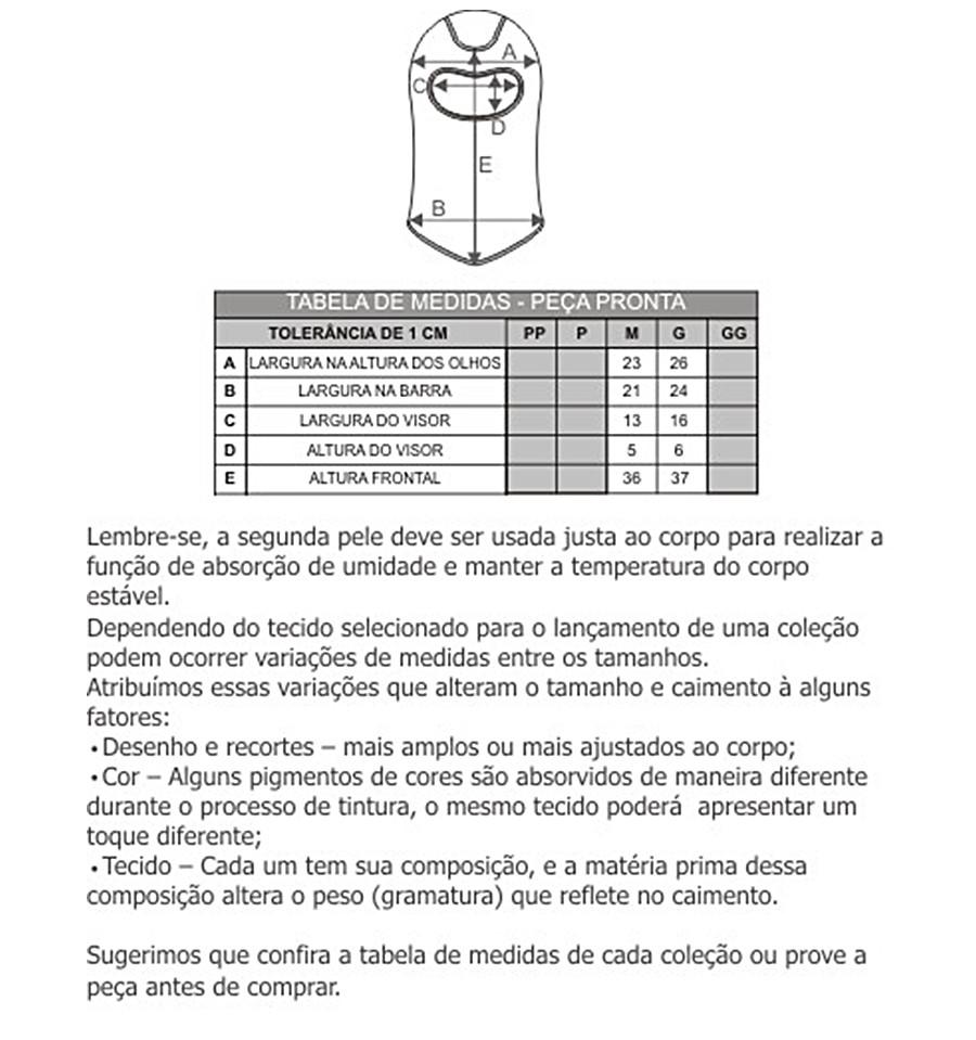 Balaclava Thermo Skin - Curtlo