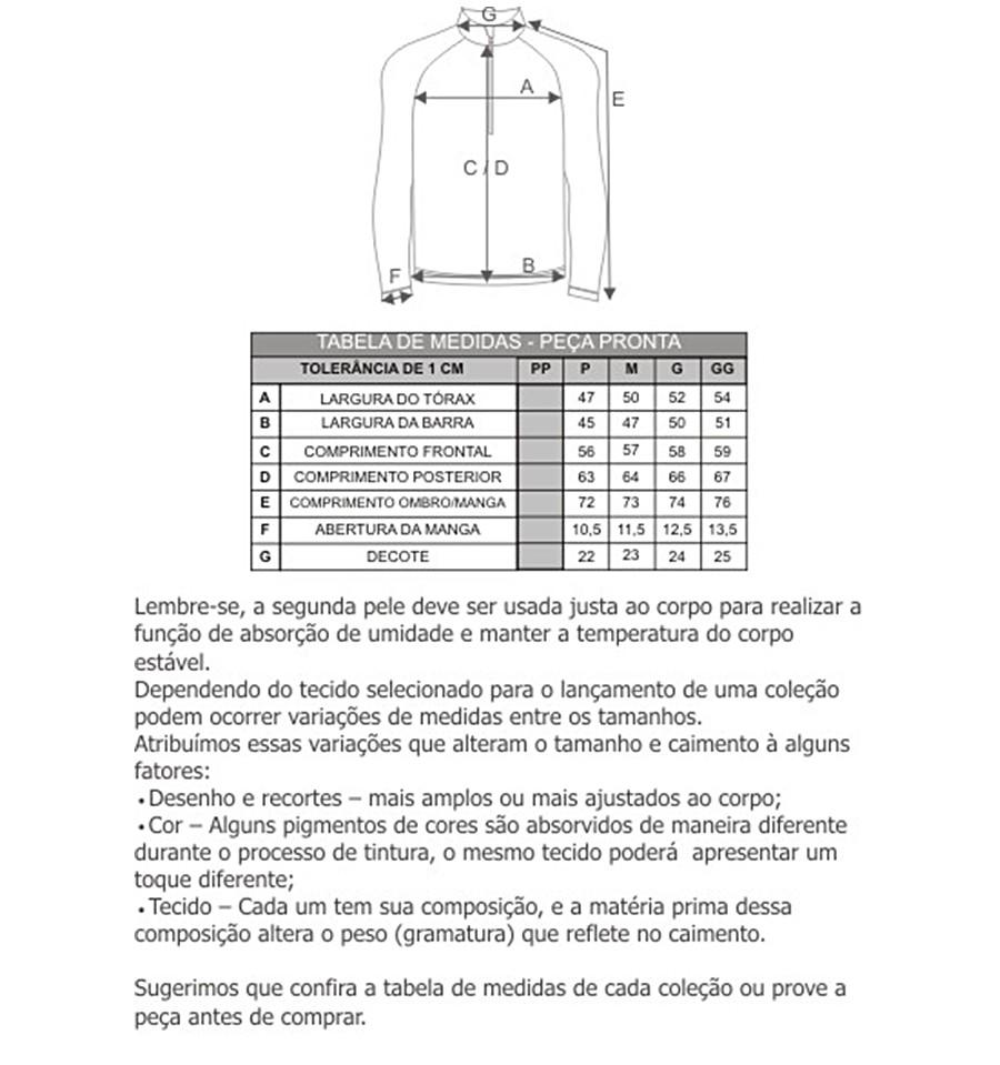Blusa ThermoPlus Masculina - Curtlo