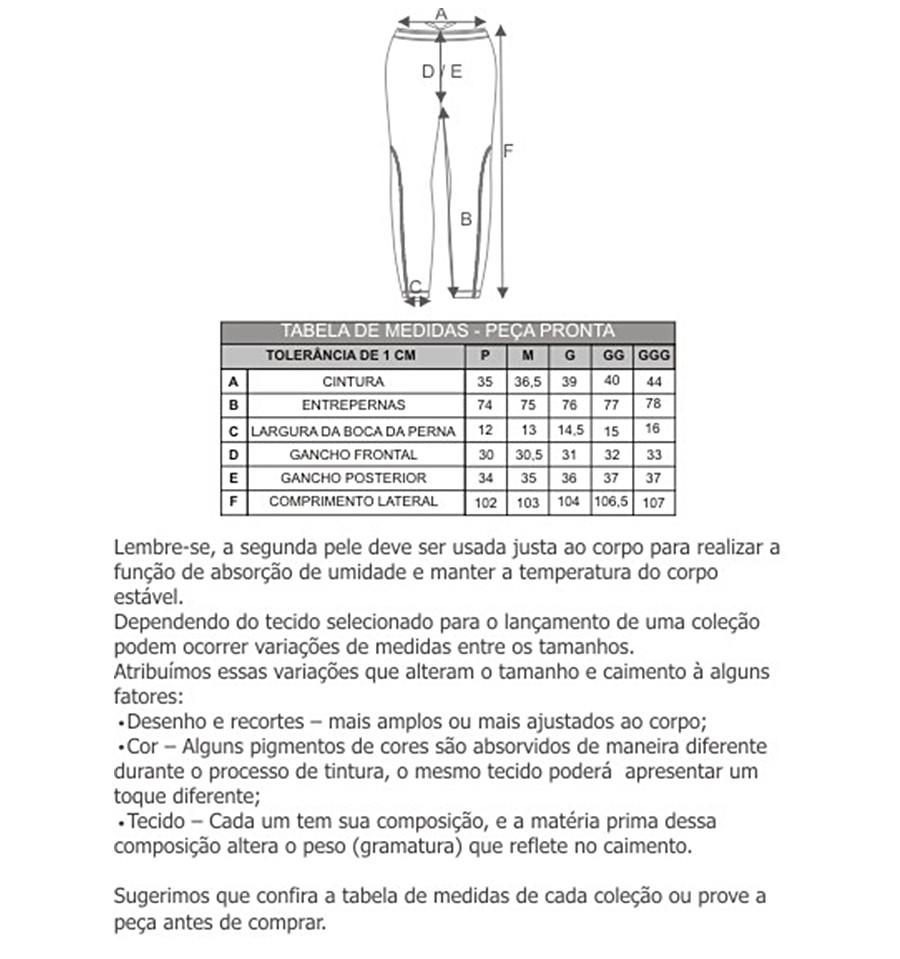 Calça Thermo Skin Masculino - Curtlo