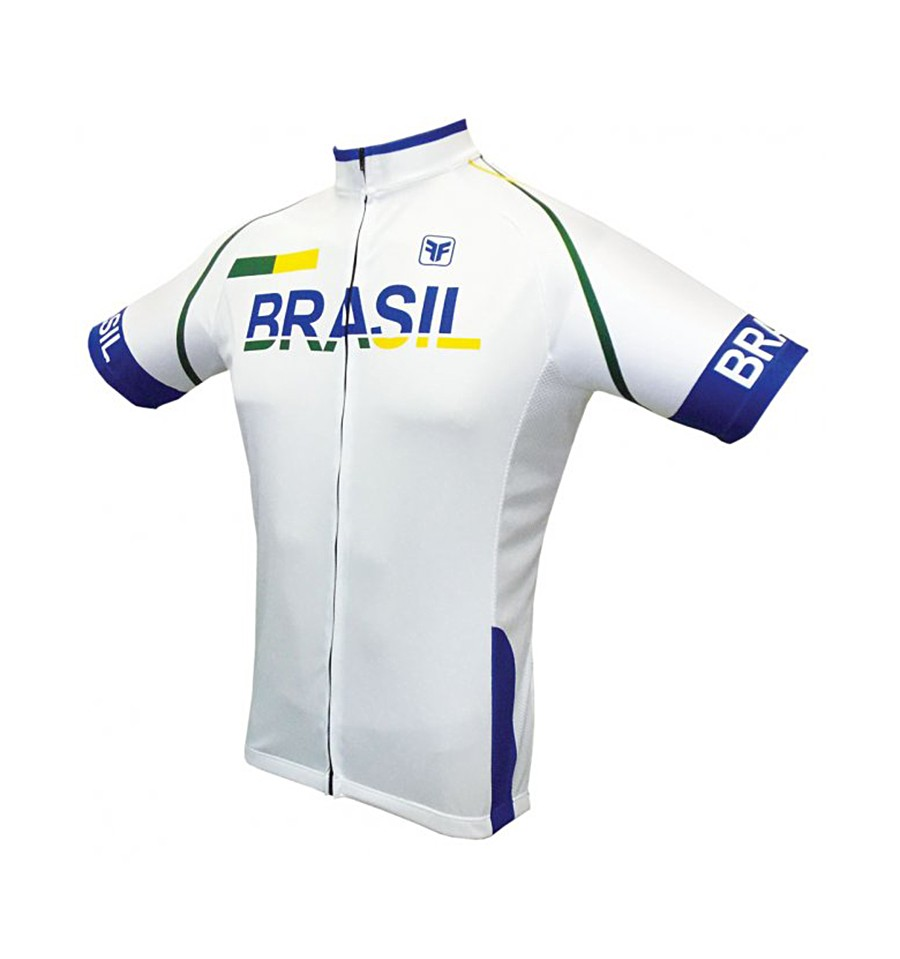7b0252fbb1 Camisa Ciclista Brasil Light - Free Force