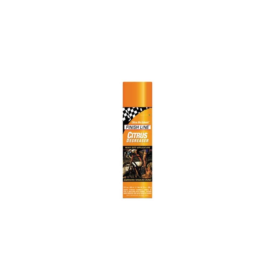 Desengraxante Biosolvente Citrus spray 360ml Finish Line
