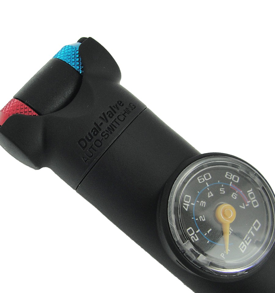 Bomba Ar de Mão com Manômetro TH-004AG - Beto