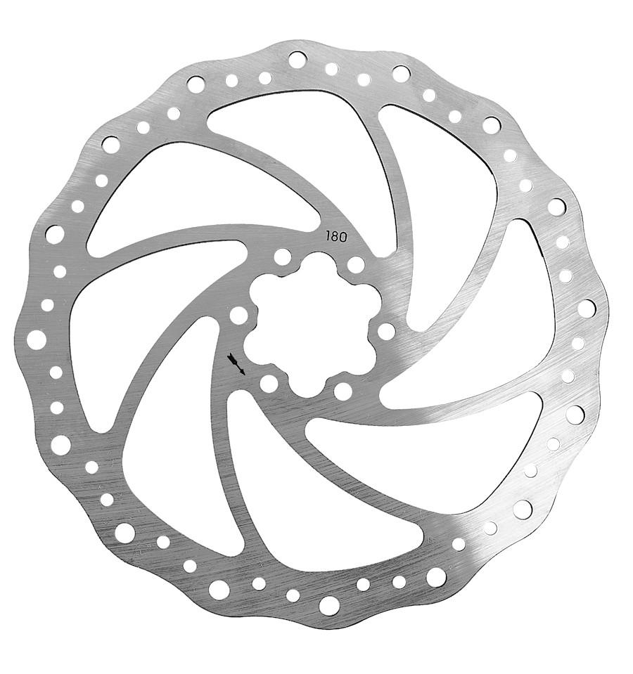 Rotor para Freio a Disco 180mm Ondulado - Winzip